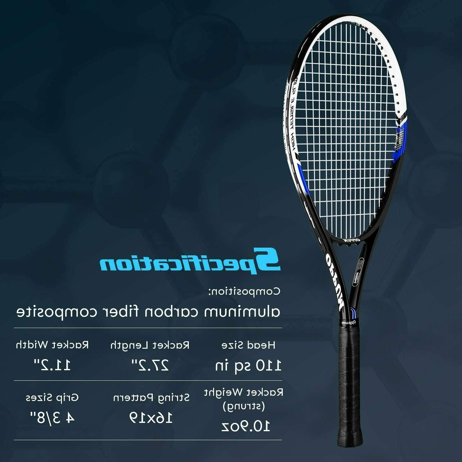 Adult Carbon Racket, Light Weight Shock-Proof
