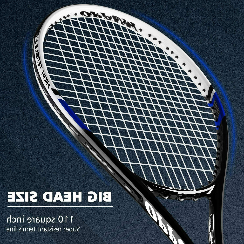 Adult Fiber Racket, Shock-Proof Size 4