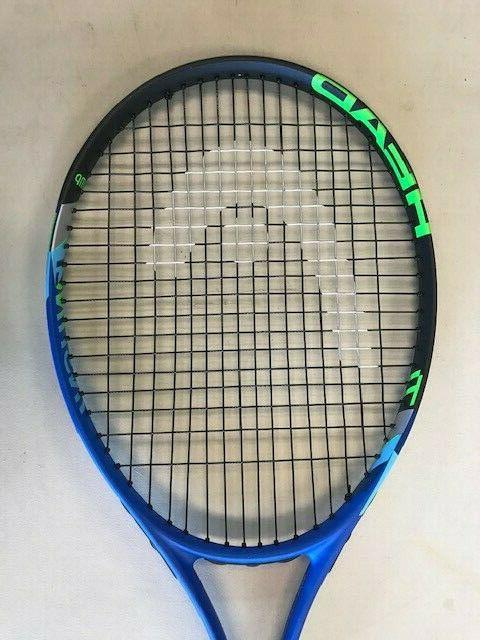 HEAD Adult Ti Comp Strung Tennis 27-4 Blue/White