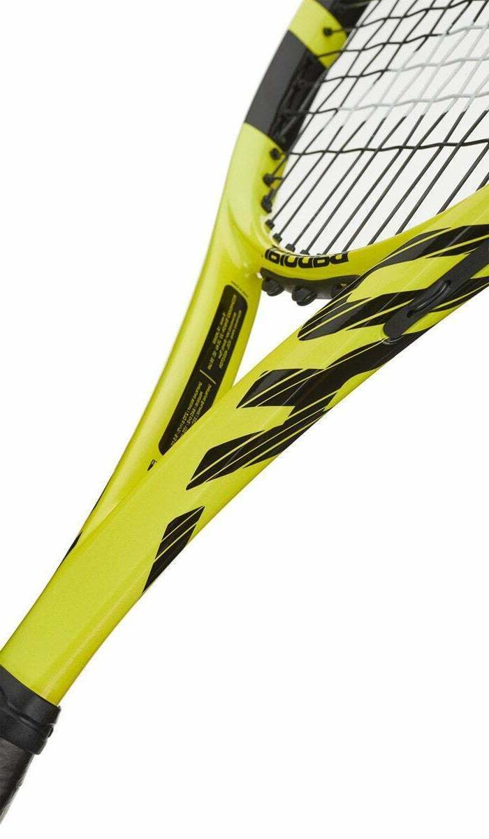 Babolat Aero Strung Tennis 102390 Yellow 4 1/4 Grip Racquet