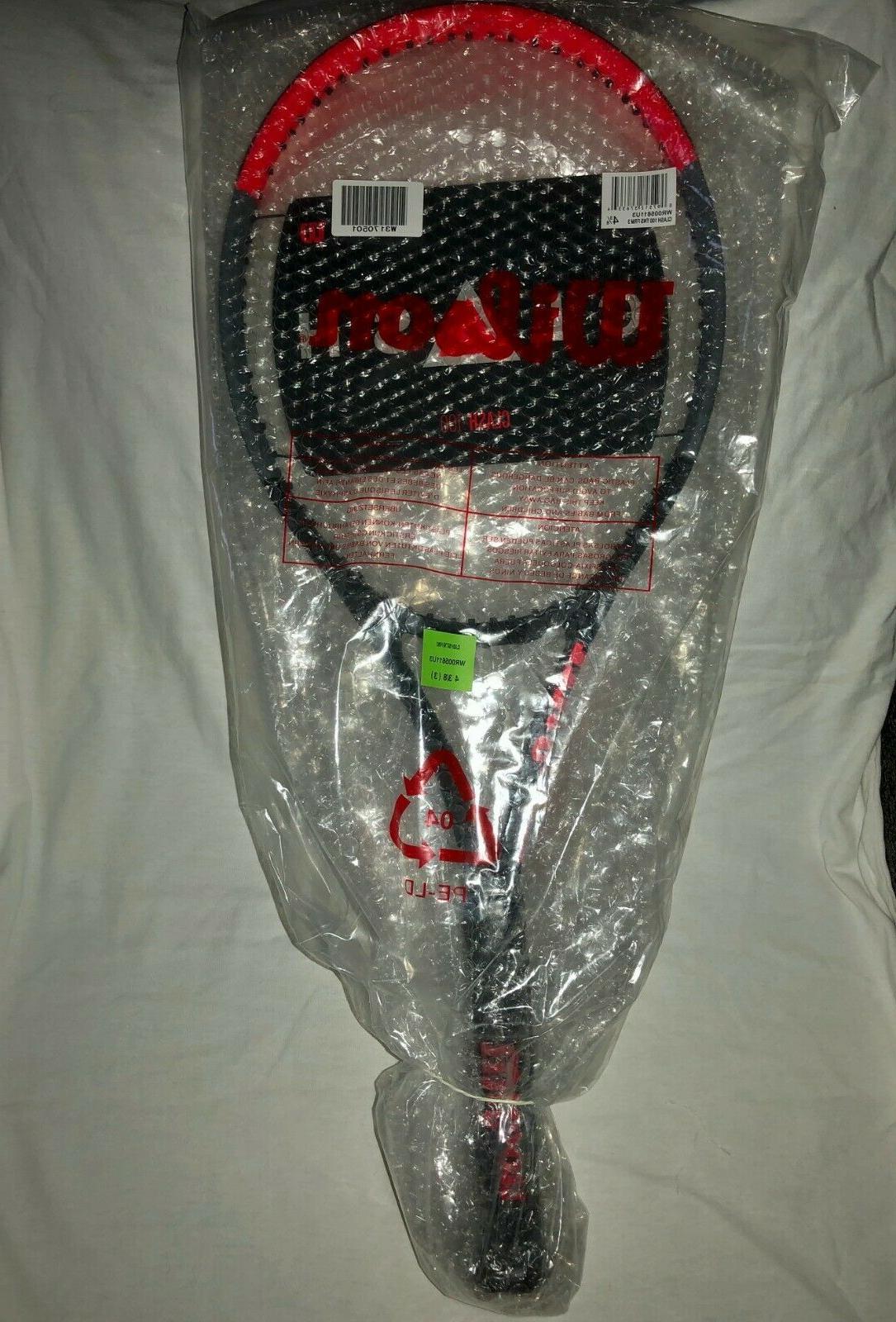 Band New Wilson Clash 100 Tennis 4 3/8