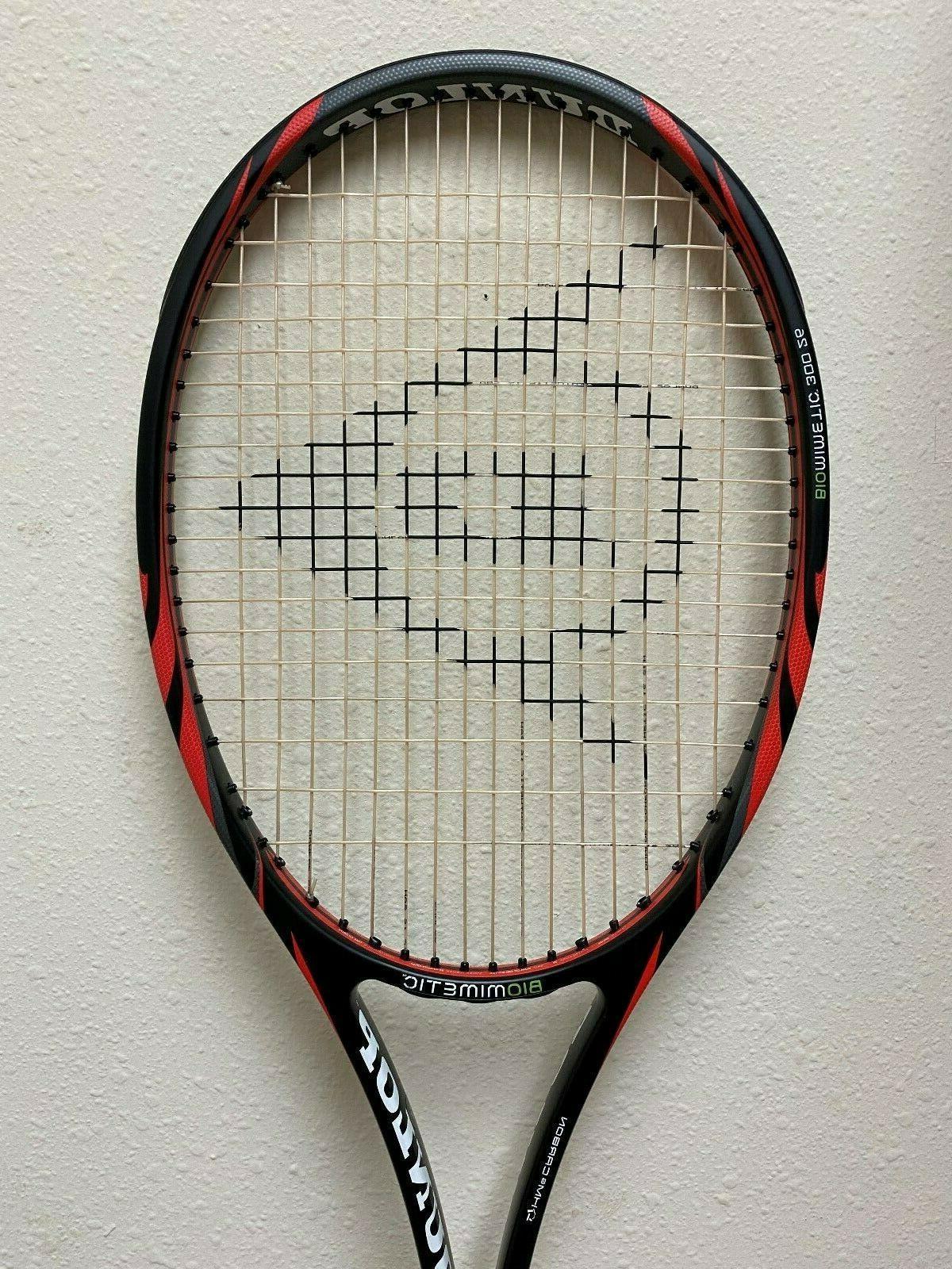 biomimetic 300 junior 26 tennis racquet
