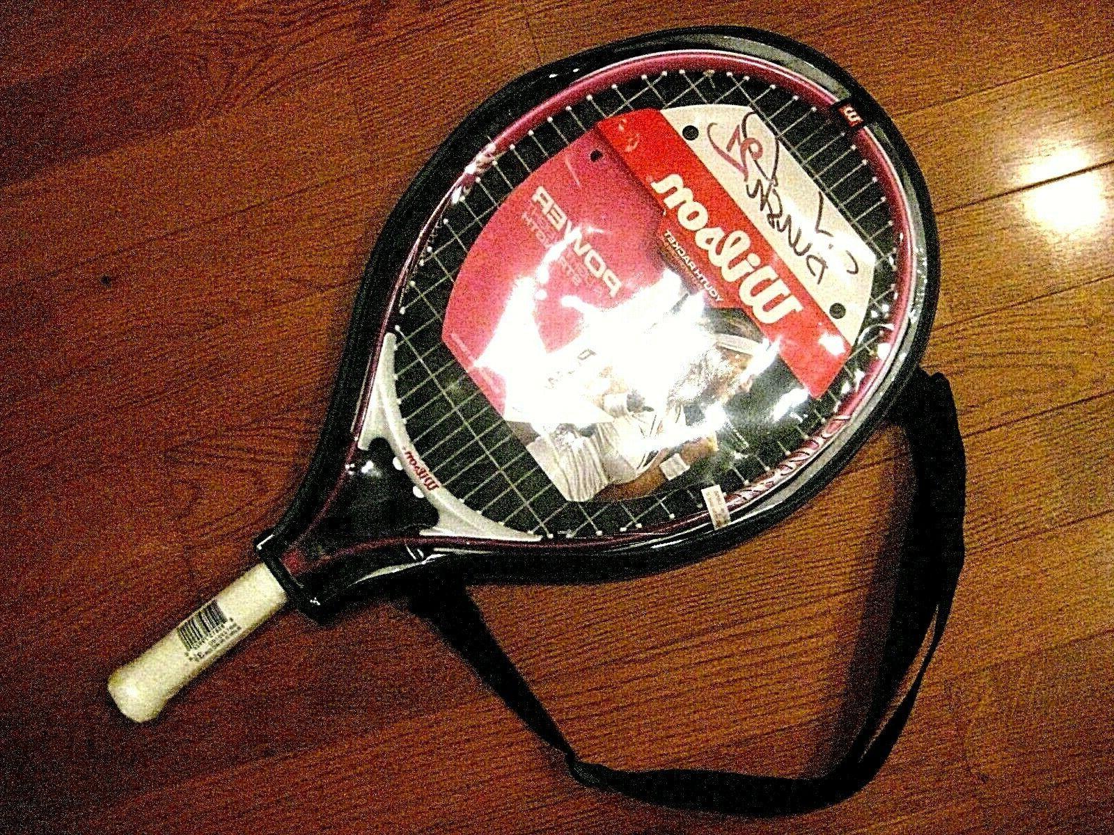 blush 21 junior tennis racquet brand new