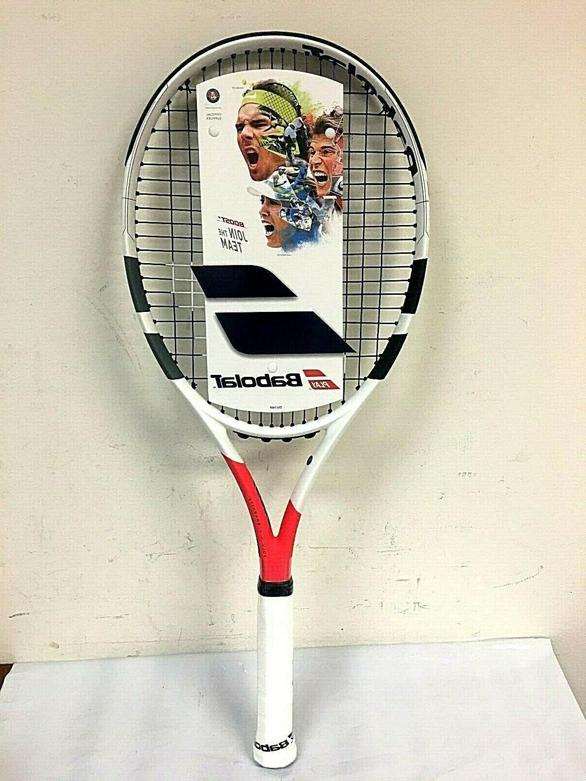 boost strike tennis racquet 121185 grip 4