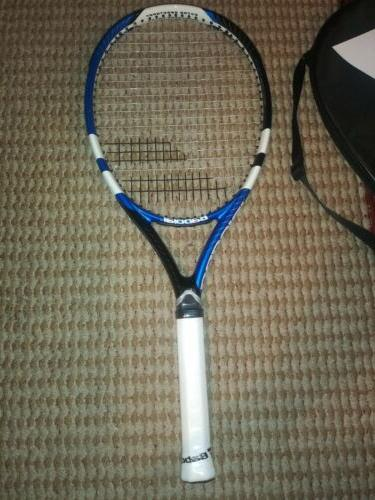 Brand Max 110 Tennis Racquet 4 grip with Case