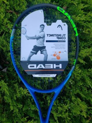 Brand New HEAD Ti Comp Titanium Tennis 3/8
