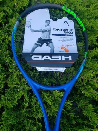 Brand Ti Instinct Comp Tennis Racquet 3/8