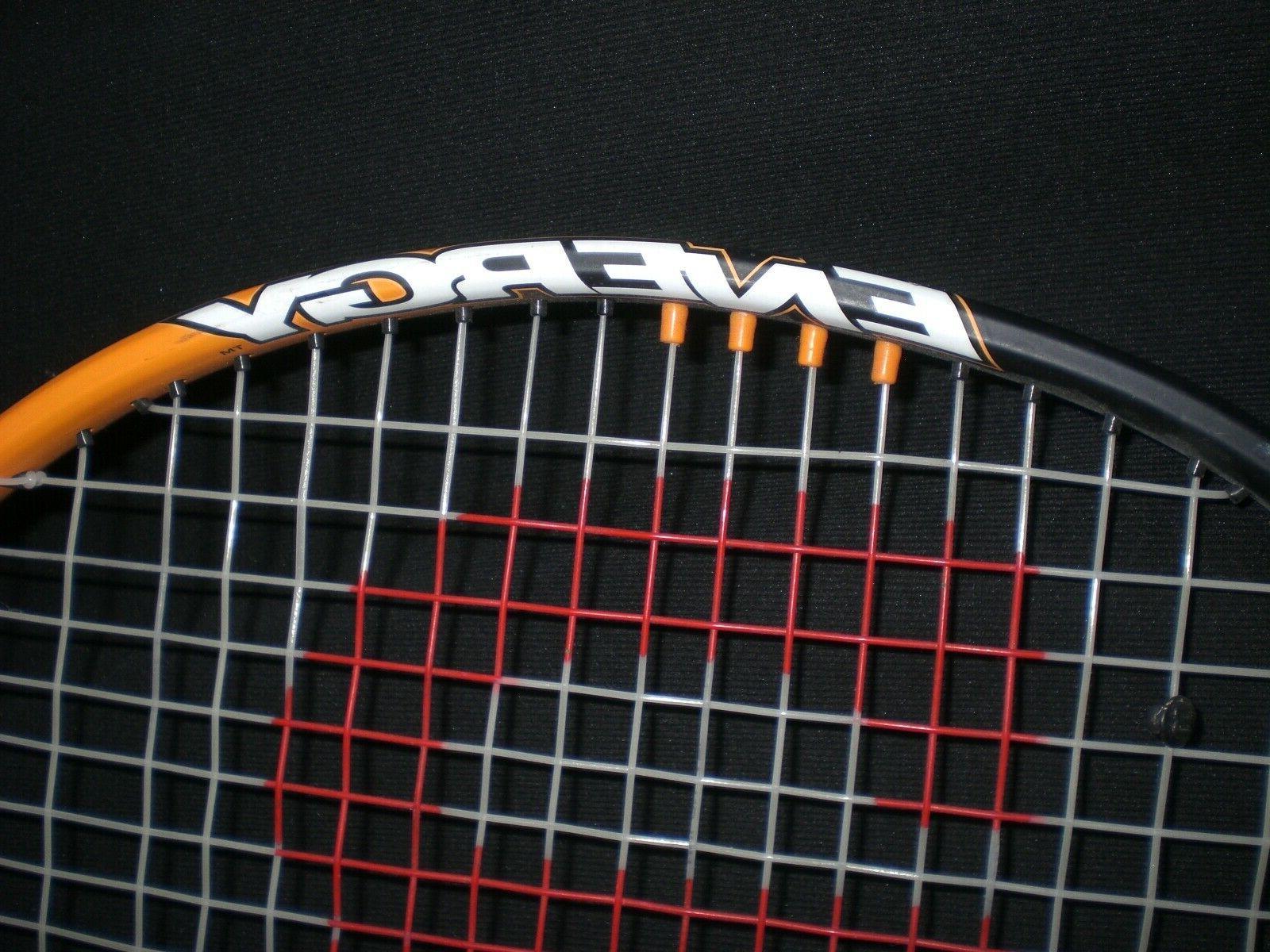 Wilson Soft Tennis Racquet Orange/Blk 3/8