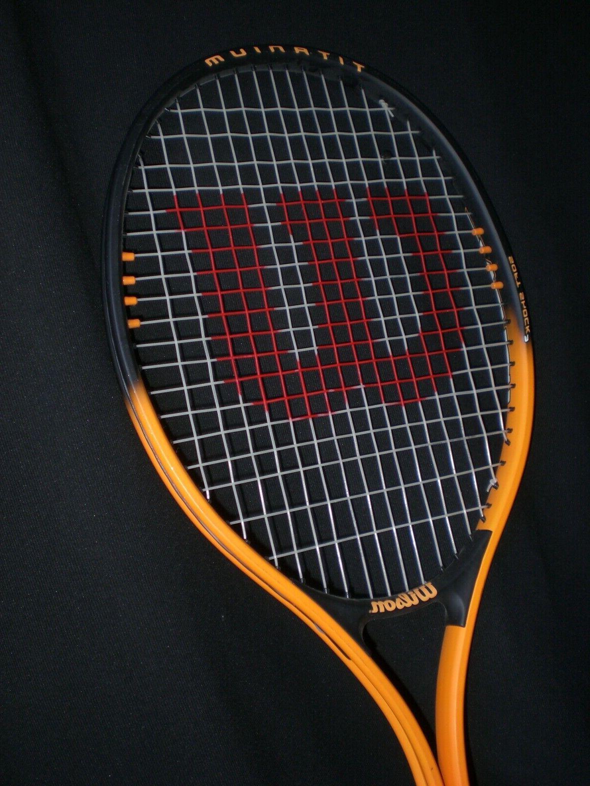 Wilson 110 Soft Shock Tennis Racquet 3/8