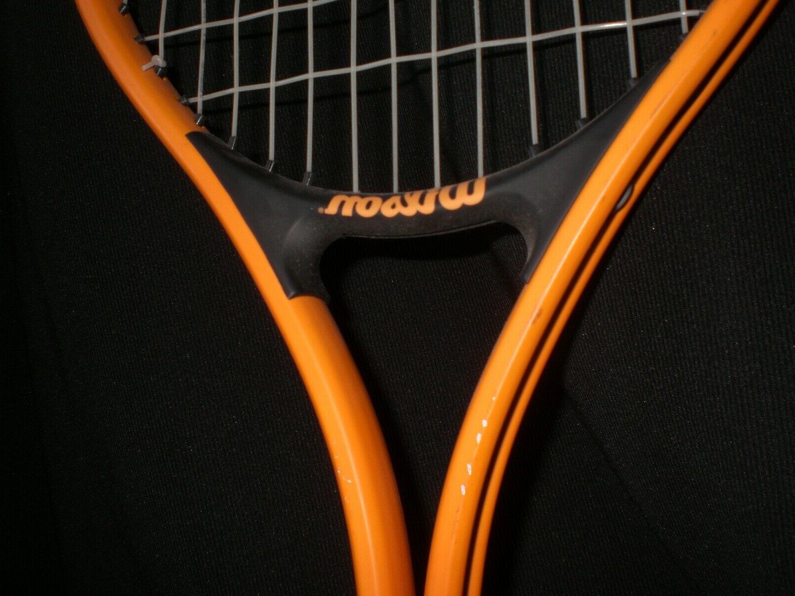 Wilson 110 Soft Racquet Racket 3/8