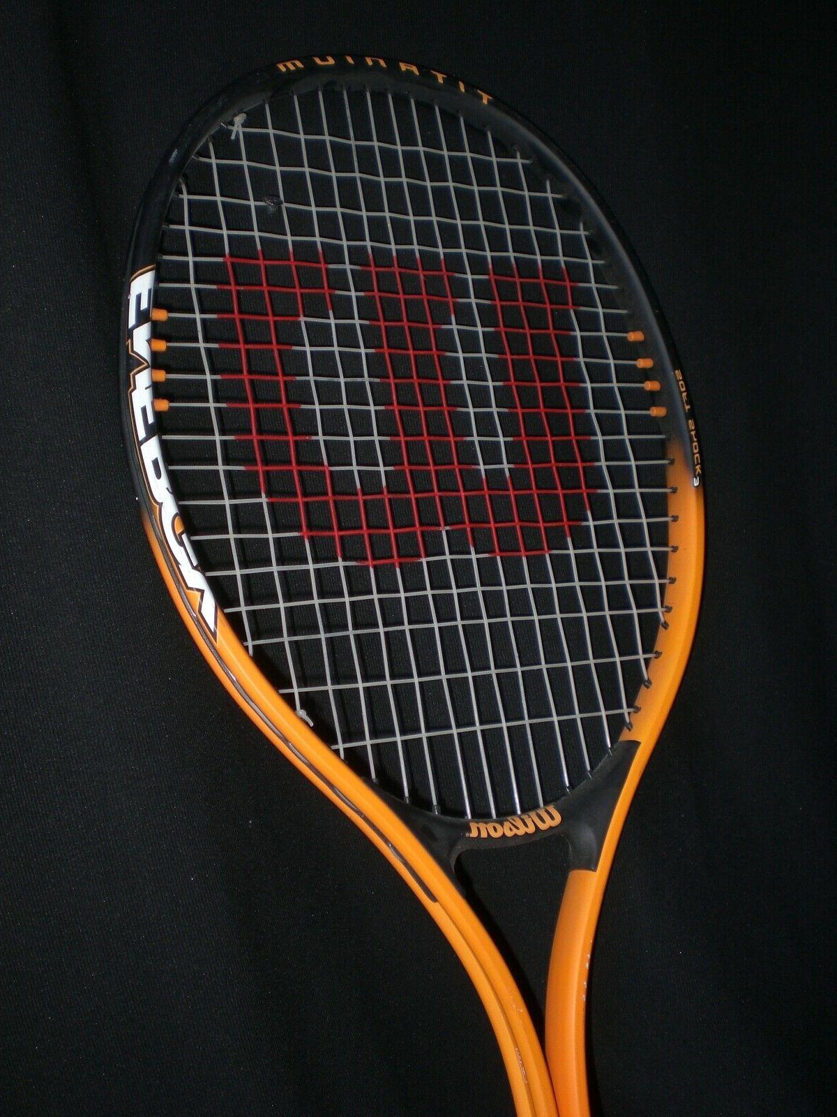 energy 110 titanium soft shock 3 tennis