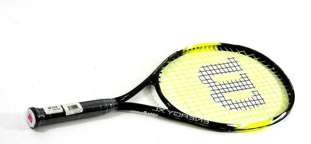 energy xl tennis racket 4 3 8