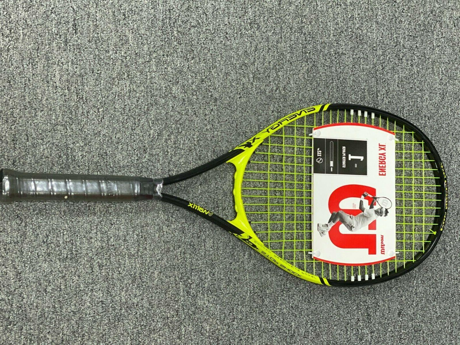 energy xl vmatrix tennis racket pre strung