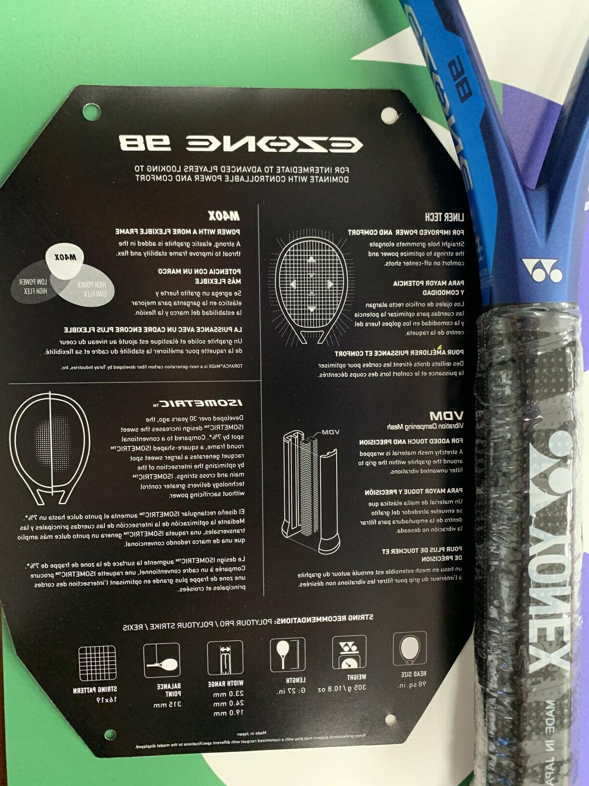 Yonex Tennis Racquet strung Tour
