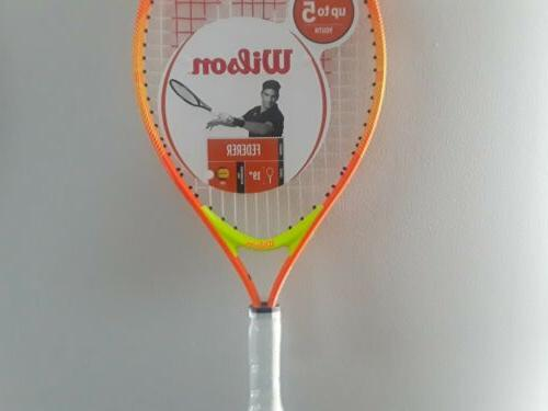 """Wilson Kids Ages up to tennis 4"""" grip 19"""""""