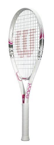 hope strung tennis racket