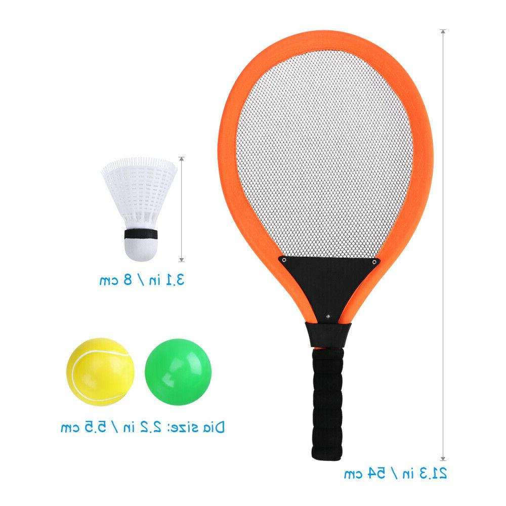 2 Pcs Racket Balls Shuttlecock Mini Outdoor