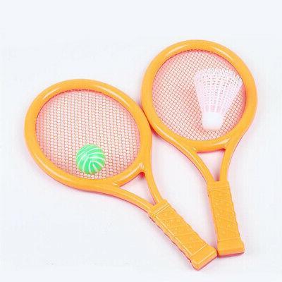 Kids Tennis Racket Game Anti Slip Toy