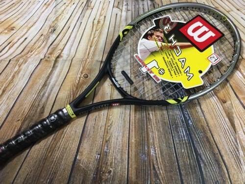 mach 3 graphite titanium tennis racket new