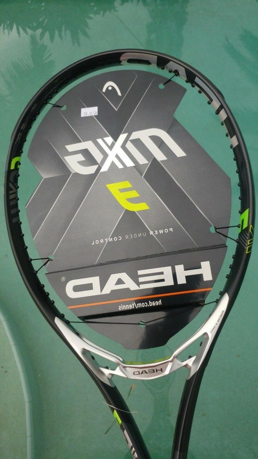 Head MxG 3 Tennis Racket Racquet 4-1/8 Grip 2018 Model!