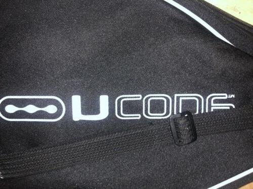Wilson Tennis Racquet Bag Black White NEW