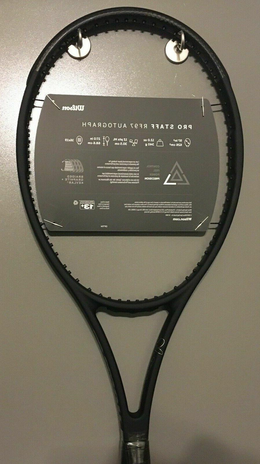 New Wilson Staff Racket