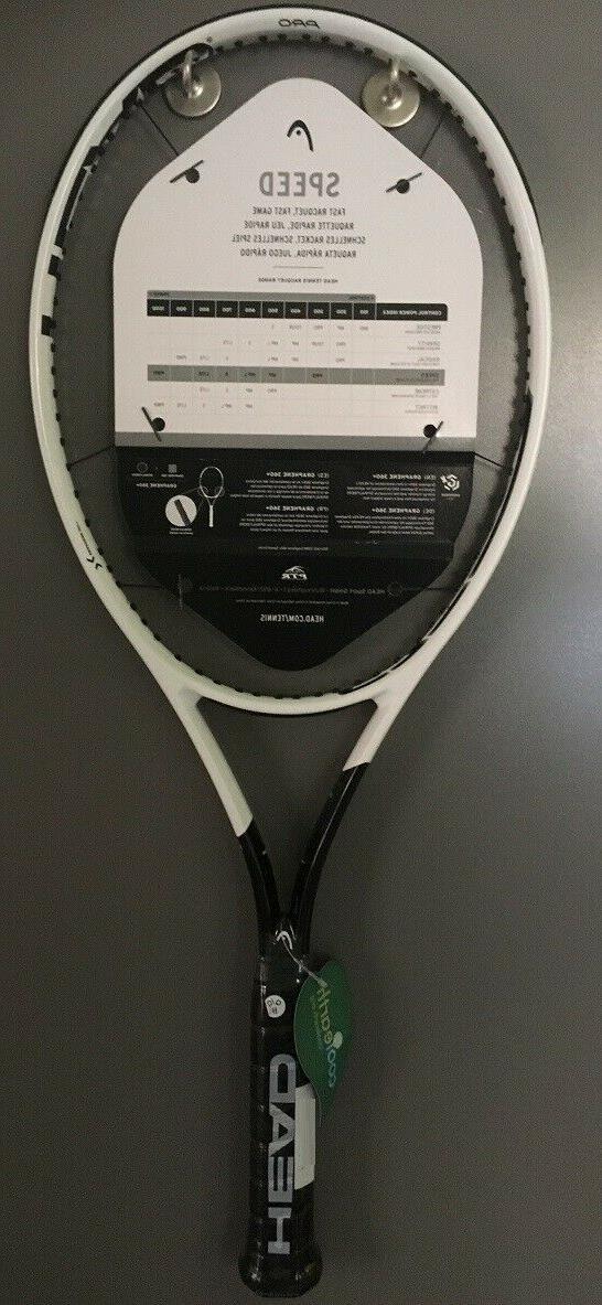 New HEAD + Pro 3/8 Racquet Racket Djokovic