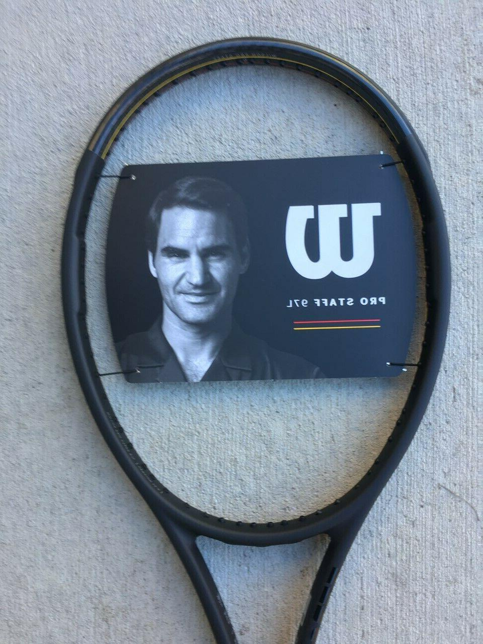 New Wilson Pro Staff 97L v13 Tennis Racquet Racket 2020, 1/4
