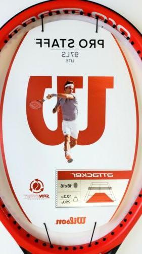 """New Wilson 97LS Tennis Racquet, 4 1/8"""""""