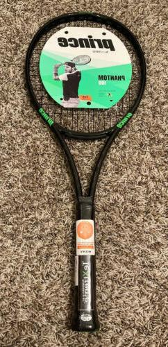 NEW Prince Textreme Phantom 100 Tennis Racquet 4 1/4 Strung