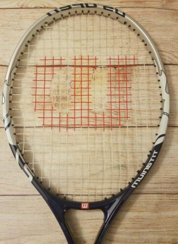 NEW! Titanium Tennis Grip.