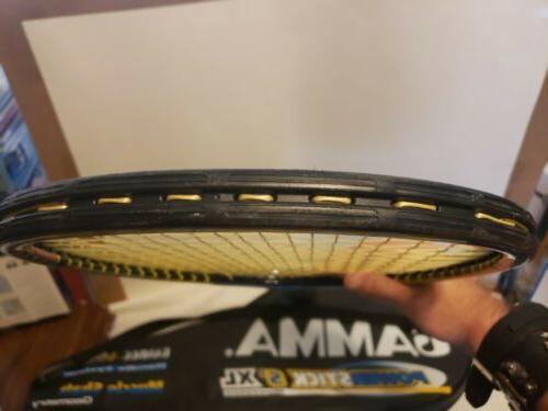 Gamma Powerstick Tennis Racket Ship Excellent Muscle EUC