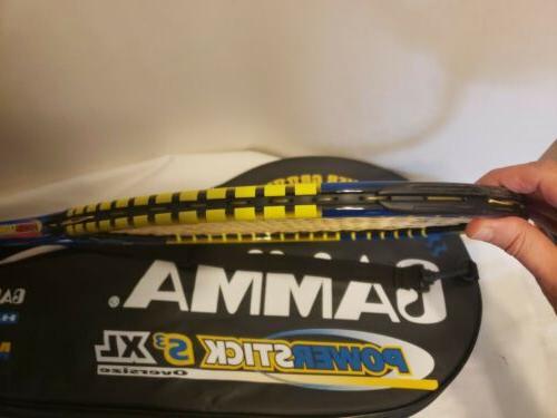 Gamma S3 Tennis Racket Free Ship Excellent EUC