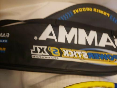 Gamma Powerstick Tennis Racket Bag Free Ship Excellent EUC