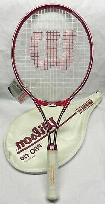 """Wilson """"Pro 110"""" Tennis Racquet, High Beam, 4 5/8 Grip Beta"""