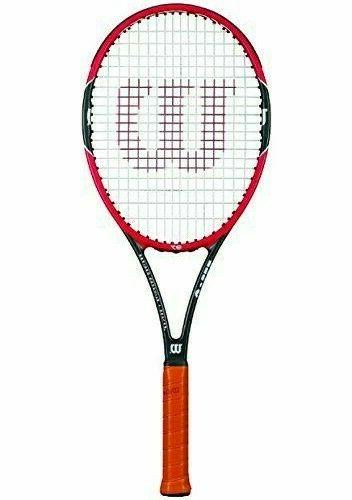 Wilson Federer 3/8 Inches Red/Black