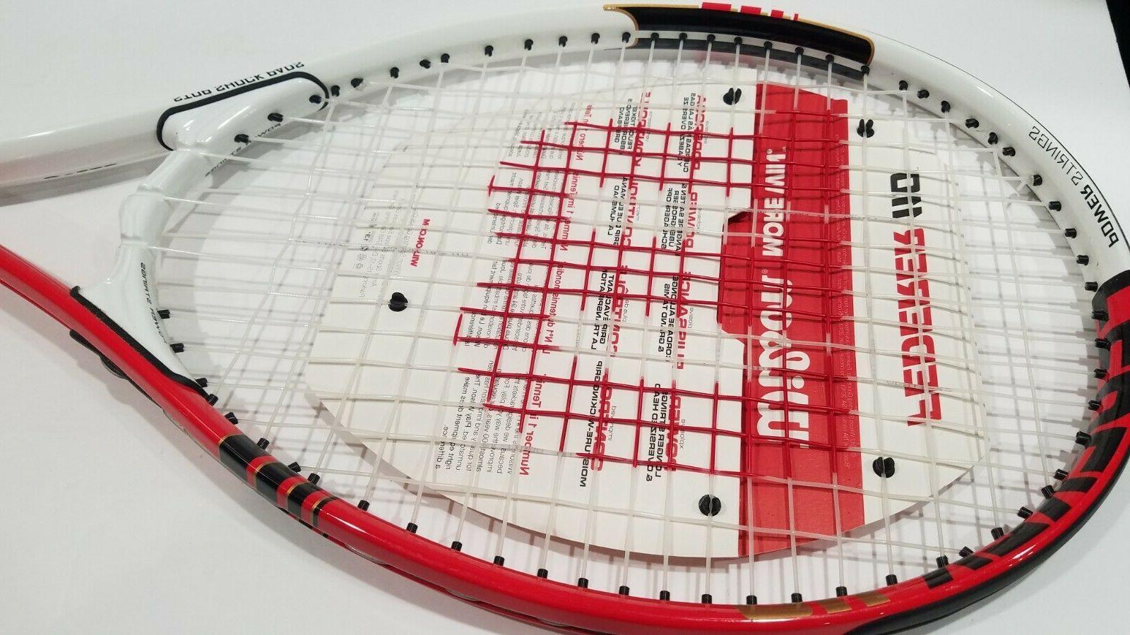 """Wilson Federer Racket Red & Black 110"""" 4"""