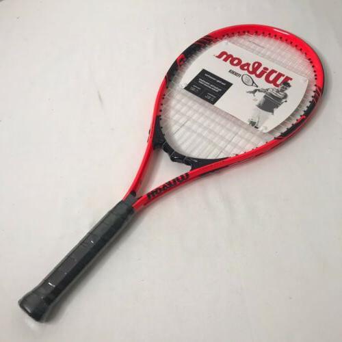 roger federer tennis racquet length 27 grip