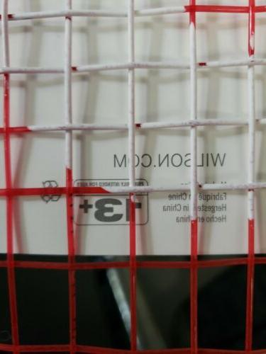 """Fusion Tennis Racket 112"""" Square 4 Grip NEW"""