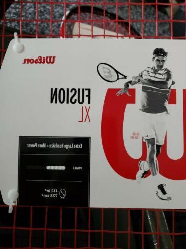 "SET OF 2- Fusion Tennis 112"" Square Grip"
