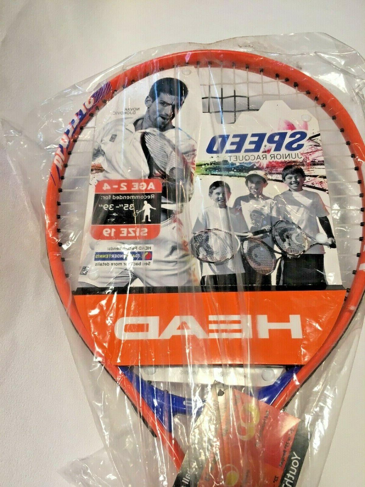 "HEAD Speed 2-4 35"" to 39"" 19 Tennis"