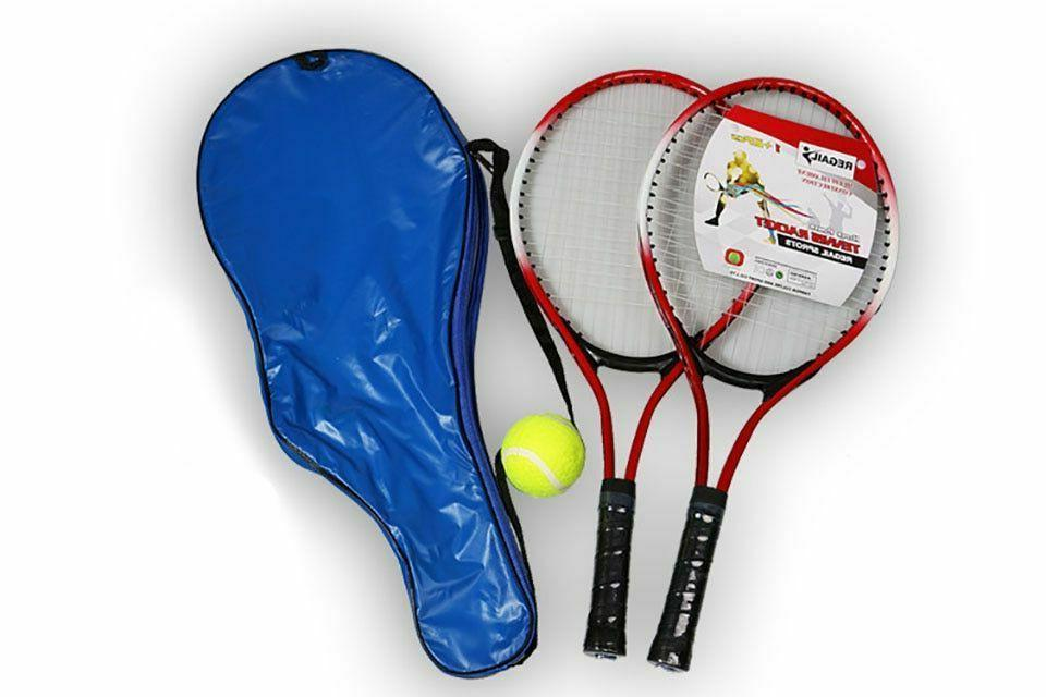 tennis racket set of 2 with ball