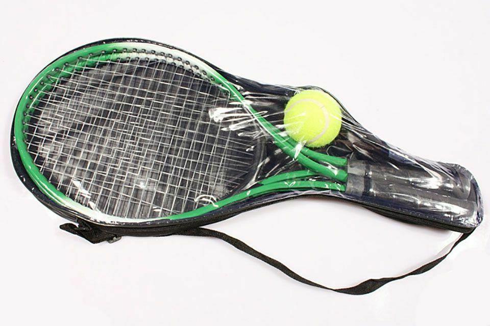 Tennis 2 Ball Training Steel