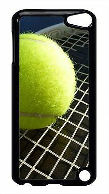 Tennis Ball Racket Black or White Case Cover for iPod 4 5 To