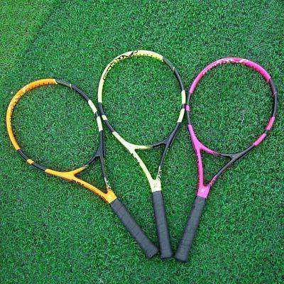 Balight 1pcs Hard Carbon Frame Tennis Racquets Speed Pro Ten