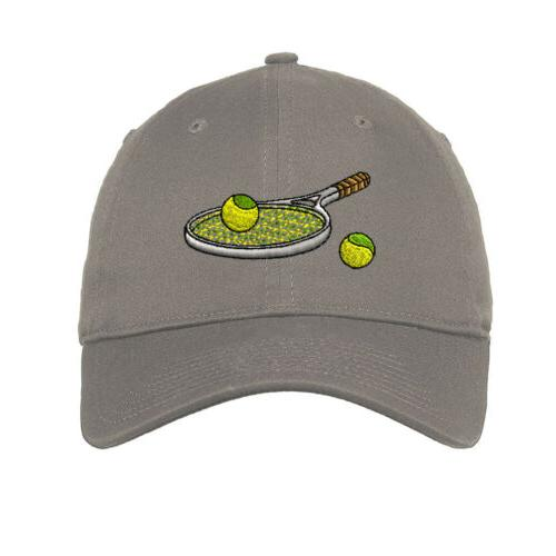Tennis Embroidered Soft Low Profile