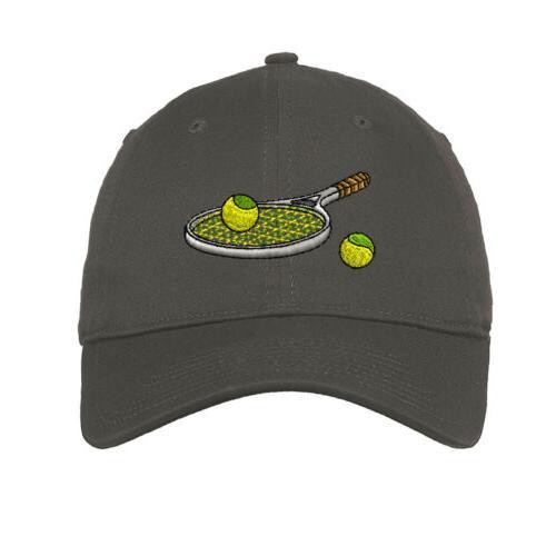 Tennis Racket Soft Low Hat