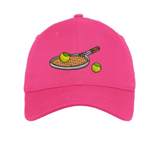Tennis Racket Embroidered Low