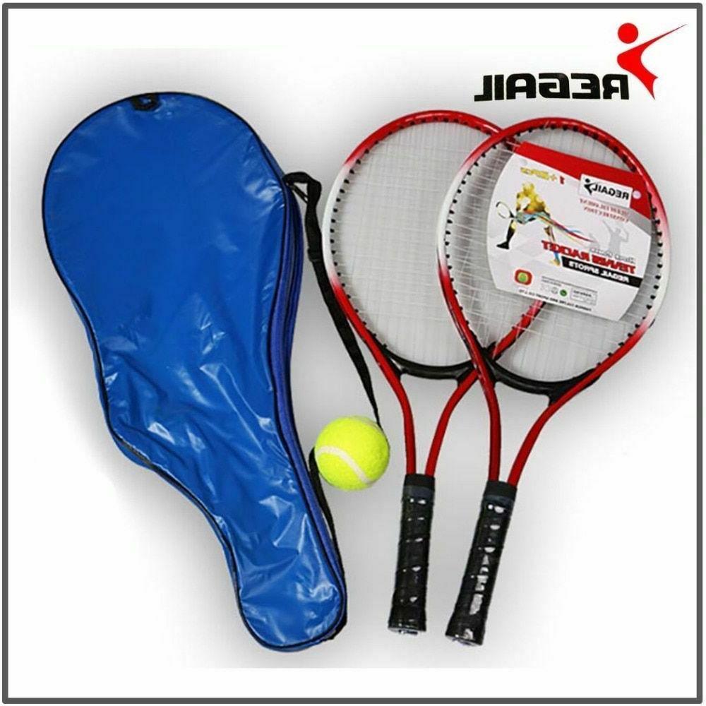 Tennis 2 Ball Teenagers Training Fiber Steel