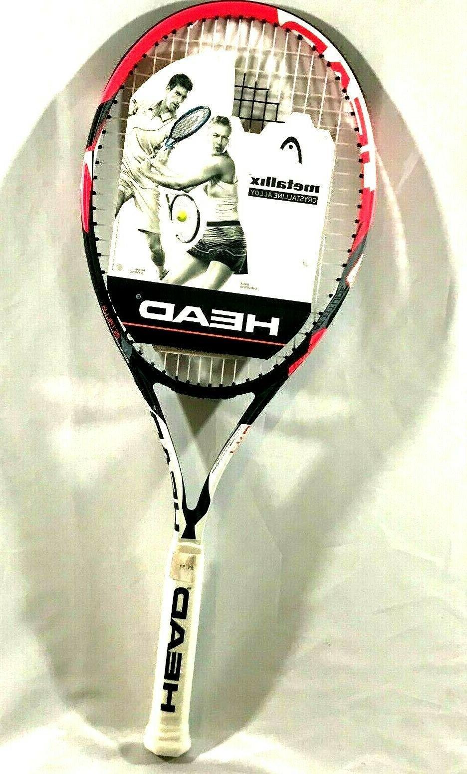 tennis racquet attitude pro metallix crystalline alloy